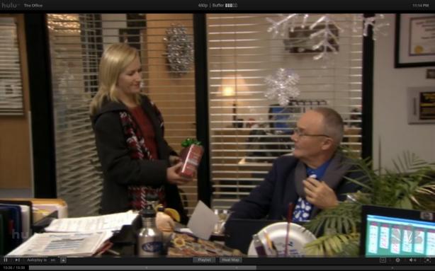 Angela's gift to Creed